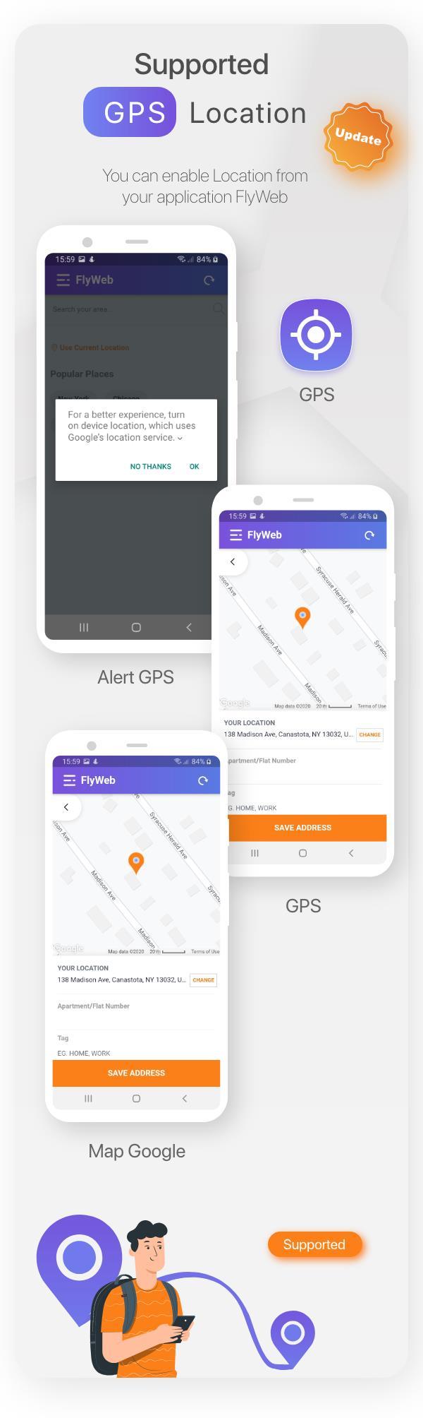 FlyWeb for Web to App Convertor Flutter + Painel de administração - 22