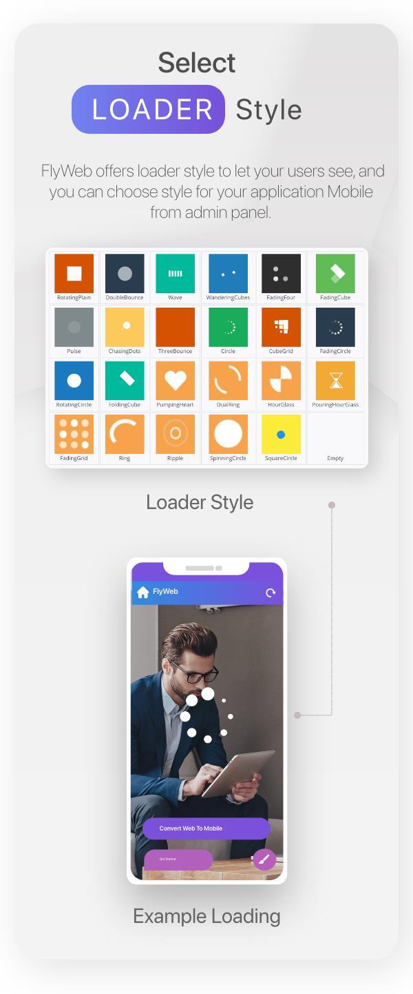 FlyWeb para Web to App Convertor Flutter + Painel de administração - 26