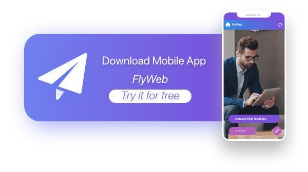 FlyWeb para Web to App Convertor Flutter + Painel de administração - 35