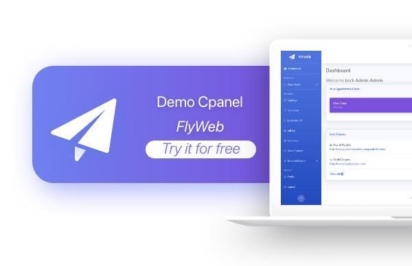 FlyWeb for Web to App Convertor Flutter + Painel de administração - 36